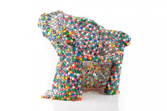 Capped Out Chair, Spartanburg, recycled bottle tops, recycled plastic ___.jpg