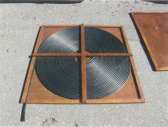 Solar water heating off grid living projects living in - How to build a swimming pool heater ...